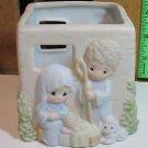 Precious Moments Nativity Votive Candleholder #181382 (1996)