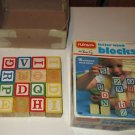Playskool Letter Wood Blocks In Box