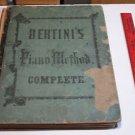 """BERTINI""""S Piano Method Complete Piano Forte Henri Betini Book"""