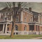 Vintage Postcard Mt Pleasant Henry County IA Iowa Seeley Memorial Y.M.C.A.