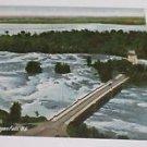Vintage Postcard  Goat Island Bridge & Rapids Niagara Falls NY