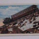 Vintage Postcard Cog Train Manitou & Pikes Peak Railway Colorado