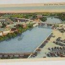 Vintage Postcard Sioux River View Sioux Falls South Dakota