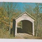 Vintage Postcard JH Russell Covered Bridge Parke County IN