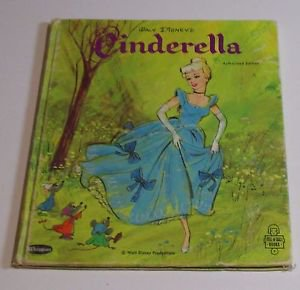 Walt Disney CINDERELLA  Whitman Tell a Tale  George Wheeler 1954 HB