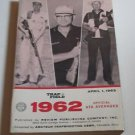 Trap & Field Trapshooters ATA Averages Book PB 1962