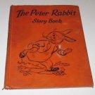 Vintage Peter Rabbit Story Book Bess Goe Willis art 1931 HC