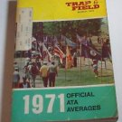 Trap & Field Trapshooters ATA Averages Book PB 1971