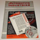 Automobile Industries 1935 Hupp~Reo~Packard~Graham~GM~Lincoln Features
