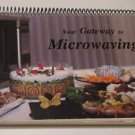 Microwaving Cookbook Eastern Star Merrillan WI 1987