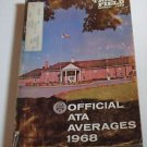 Trap & Field Trapshooters ATA Averages Book PB 1968