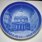 "Julen 1970"" Church of Frederic Christmas Collector Plate ""Marmorkirken"