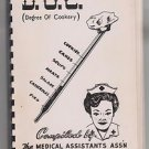 Medical Assistants Cookbook Omaha NE 1966 many local advertisements
