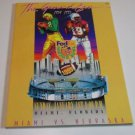 Grand Era 1934-1995 Fedex Orange Bowl Nebraska VS Miami Football Book