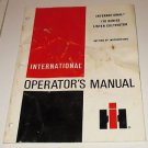 International Manual 170 series lister cultivator setting up instructions