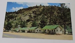 Postcard Whispering Pine Motel & Cabins Estes Park Co ~Colorado~~~~~~~~~~~~~~~~~