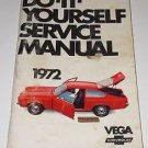 DO IT YOURSELF SERIVCE MANUAL VEGA CHEVROLET 1972