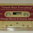 Radio Reruns George Burns and Gracie Allen Gracie Buys Everything Cassette