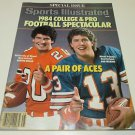 1984 Dan Marino and Bernie Kosar Football Special Issue Sports Illustrated