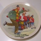 "Knowles ""The Skating Lesson"" Joseph Csatari Grandparent Series Collector Plate"
