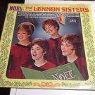 Lennon Sisters  Noel  Mercury Stereo  Vinyl LP