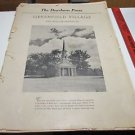Dearborn Press Greenfield Village Edison Institute Henry Ford  1938
