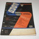 FORD quick reference catalog January 1956