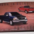 FORD F Trucks  Born in Detroit, Dressed in Milwaukee Harley Accessories Brochure