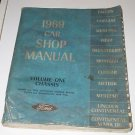 1969 Car Shop Manual FORD Vol One Chassis