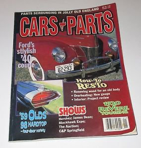 Cars & Parts Mag Jan 99 Ford 40 Coupe ~ 59 Olds 98 Hardtop ~ 1920 Revere Touring