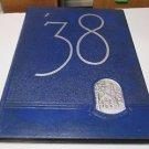 "DRURY COLLEGE ""Sou'wester"" Yearbook Annual 1938 Springfield Missouri"