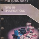 Motorcraft 1984 Tune-up Specifications DP1000H 10/84