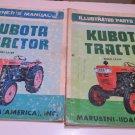 Kubota tractor Model L210P owners manual & parts list model L210P