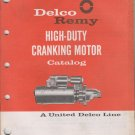 delco remy Nov  1966  high duty cranking motor catalog 1A-103