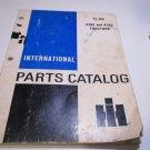 international parts catalog tc-165 4366 and 4386 tractors