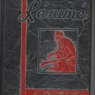 RESUME Springfield Missouri High School Yearbook class of 1936