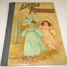 vintage little runaways w.b conkey company children's book