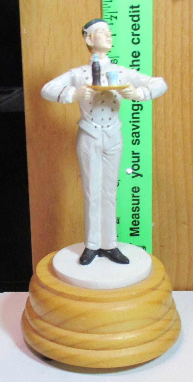 "Figurine Coca - Cola 1990 Musical ""The Entertainer Server"""