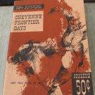 Vintage 58th Annual Cheyenne Frontier Days Souvenir Program Wyoming