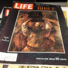 "Life Magazine - December 25, 1964 - ""The Bible"" - Moses By Rembrandt Cover - Special Double Issue"