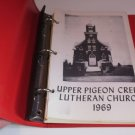 1969 Upper Pigeon Creek Lutheran Cookbook Hixton Wisconsin