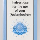 instructions for the use of your dodecahedron brochure