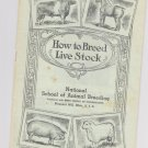 Vintage-How to breed livestock beery school of horsemanship