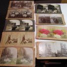 KEYSTONE VIEW CO  STEREOVIEW CARDS Lot of 9