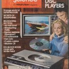 POPULAR SCIENCE February 1977 Video Disc Player Feat