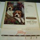 Chesnut Produce Calendar 1959 Lincoln Nebraska