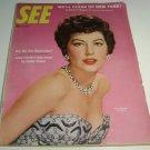 See magazine may 1954 Ava Gardner Mara Lane Flying Croneras