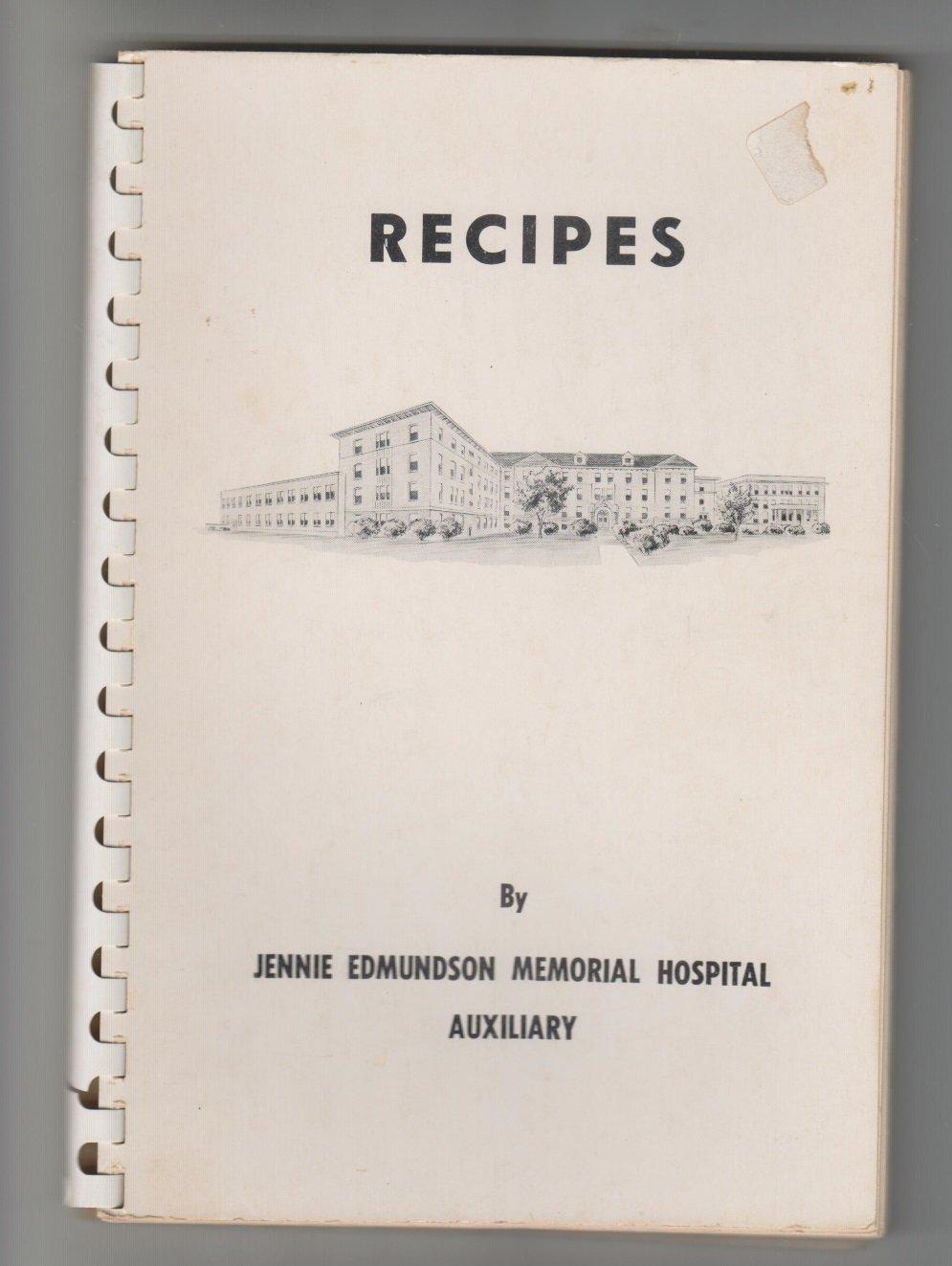 VINTAGE recipes jennie edmundson memorial hospital cookbook