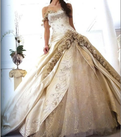 Hot sale 2010latest wedding dress XMa034