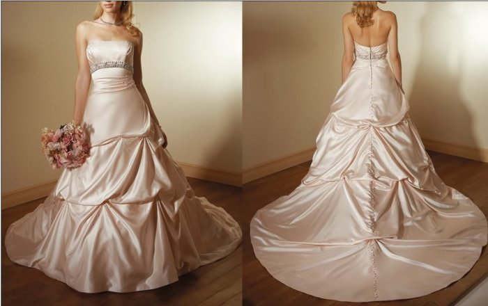 Hot sale 2010latest wedding dress XM038